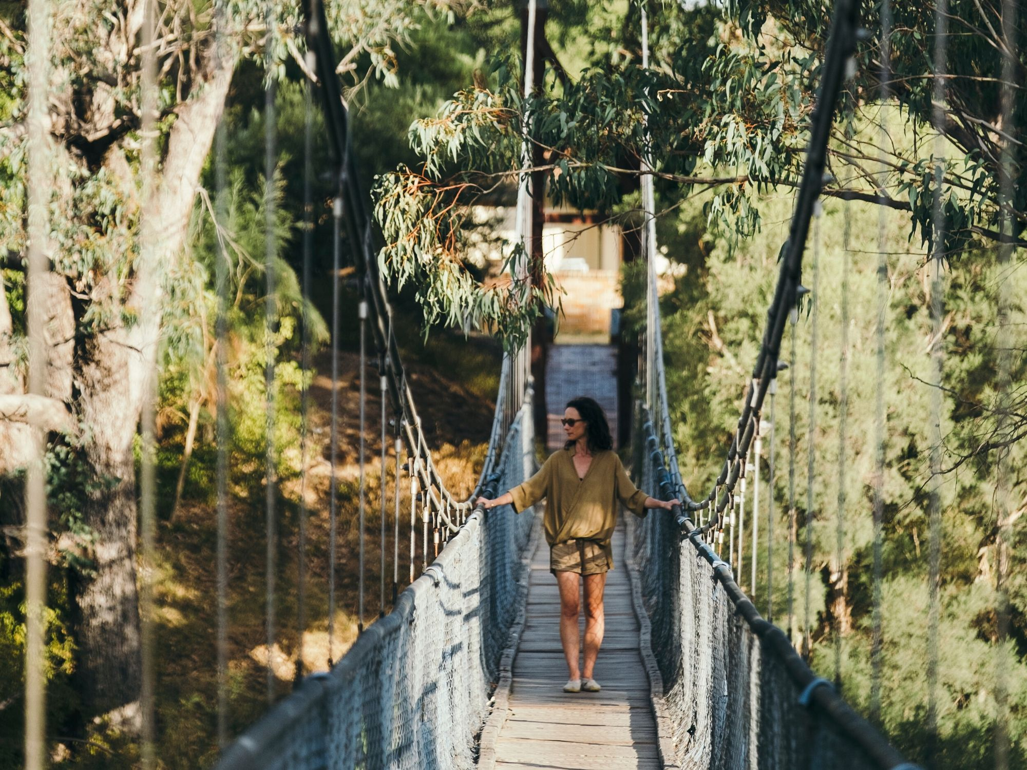 Pinjarra Heritage Walk - Suspension Bridge - Visit Mandurah