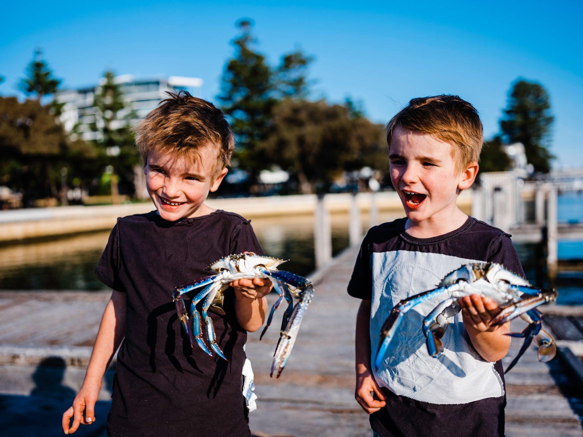 fishing crabbing