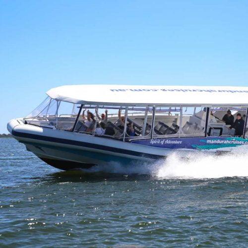 07 Mandurah Cruises Dolphin Island Adventure