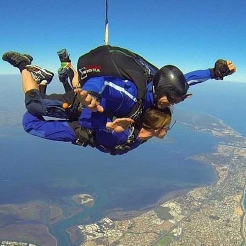 08 Skydiving over Doddis Beach Mandurah