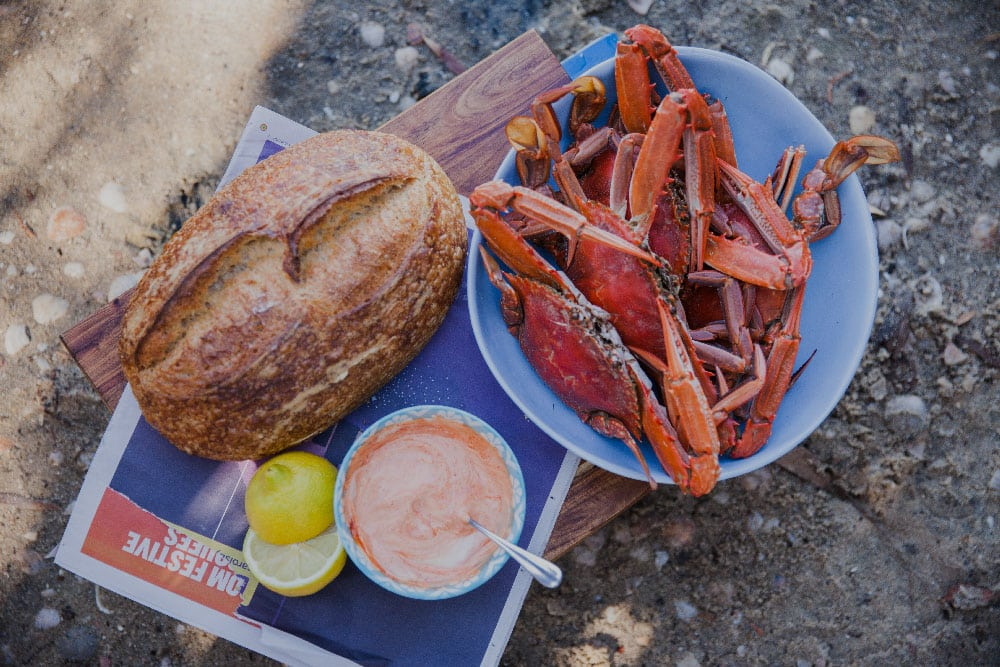 Blue Swimmer Crab with Chilli Mayo 2684 1