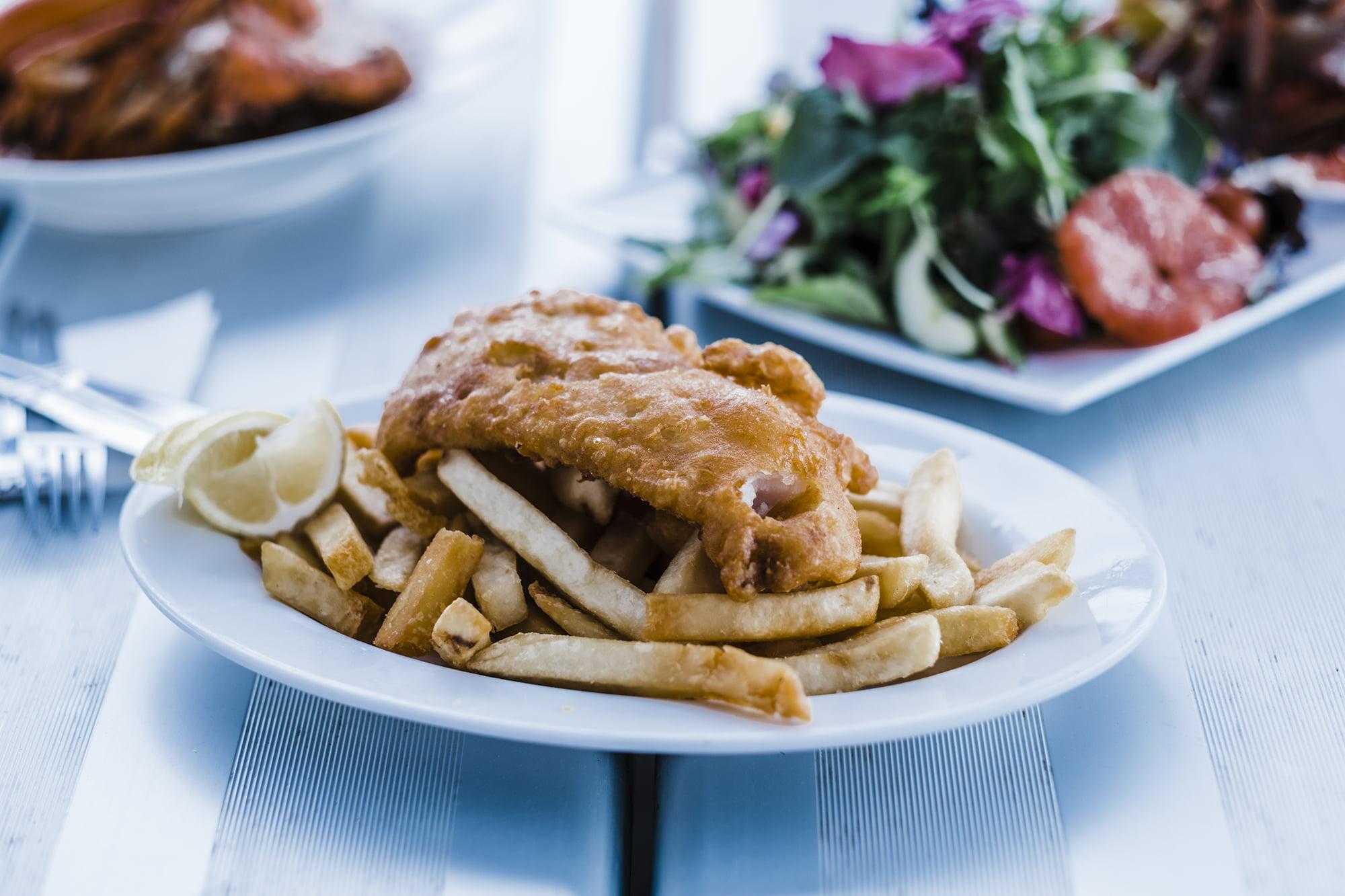 Fish & Chips in Mandurah