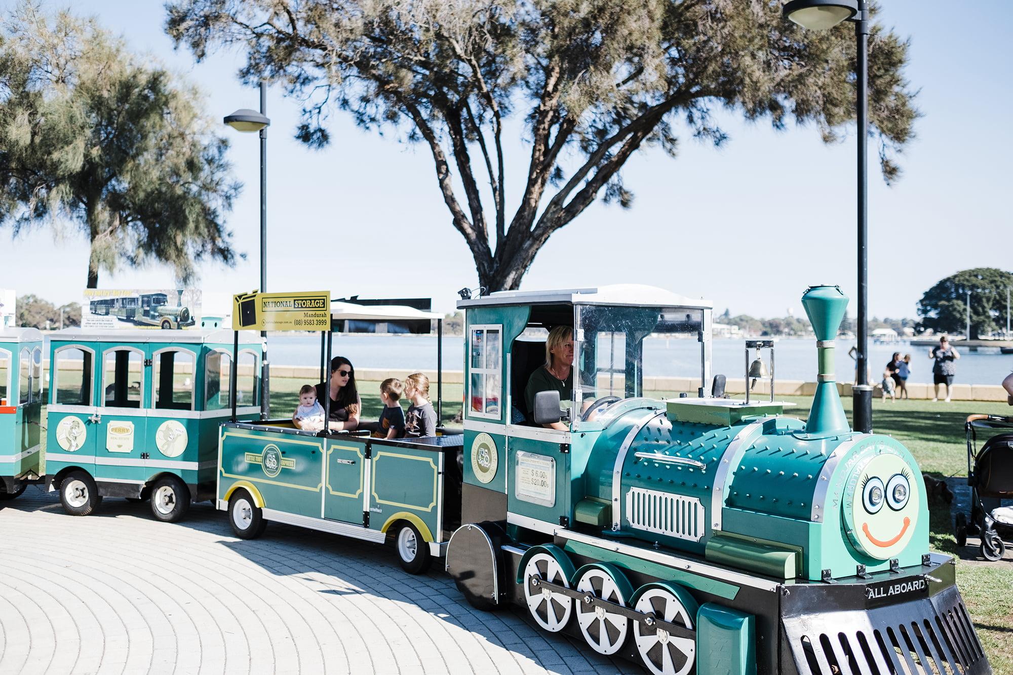 Mini Toot Tourist Fun Train Mandurah