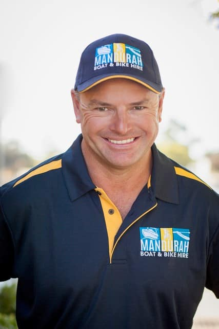 Carl Wright, Mandurah Boat & Bike Hire