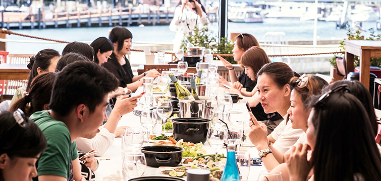 authentic dining