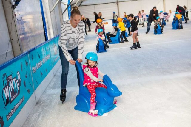 It's time to book your skates and prepare to head down to Mandurah's pop-up Ice Skating Rink! ⛸🧊 Visit the large ice rink, ice toboggan slide, rides, fantastic entertainment, and delicious food and drink options by @the_brightonhotel. Whether you are new to skating or a pro on the ice, there is something for everyone, including a 'Kanga' Skate Aid to ensure children of all ages and abilities can have a go! This is one event this Winter will not want to miss and a fun day out for the whole family to enjoy. Finish the day with fish and chips on the foreshore for the perfect Winter day out! Details: 26th June - 18th July 2021 | Mandurah Eastern Foreshore | 10:00am - 8:00pm (sessions run hourly, last sessions at 7:00pm)
