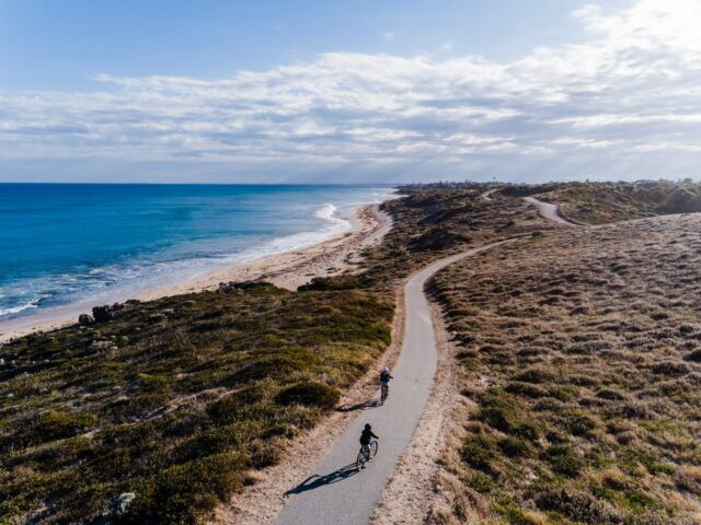 As the weather starts to get warmer (and drier) it's the perfect time to explore Mandurah on two wheels! 🚴   Explore winding forest tracks on your BMX or take a leisurely ride along our gorgeous waterfront trails.   Check out our stories on the Visit Mandurah website for some of our favourite cycles around the Mandurah and Peel region.  #mandurah #mandurahmoment #visitmandurah #relaxedbynature #peel #wanderoutyonder #thisiswa #westernaustralia #perth #perthroadtrips #perthholidays #roadtrip #nature #australia #seeaustralia #mandurahkids #thingstodowithkidsperth #thingstodowithkidsmandurah #cycling #biketrails #biking