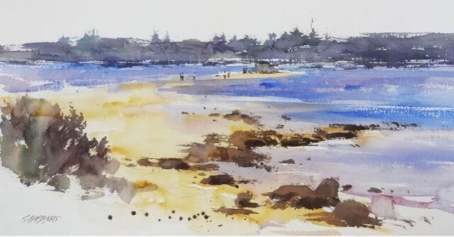 """⭐ Plein Air Down Under event highlight⭐   Workshops with multi-award-winning watercolour artist from Perth do not come around often. Join Sue Hibbert in a two-day Plein Air Watercolour Masterclass during the festival weekend of 25 - 27 September. """"Observe the changing light and shadows, capture those fleeting moments."""" with a talented artist.  See more on this event plus the 2021 @pleinairdownunder via the link to website in bio.  #mandurah #mandurahmoment #visitmandurah #relaxedbynature #wanderoutyonder #thisiswa #holidayherethisyear #westernaustralia #perth #seeperth #pleinair #pleinairdownunder #padu #enpleinair #outdoorart #artfestival #thingstodowithkids #kidsinperth #australia #seeaustralia #painting #artexhibitions #artistslifestyle"""